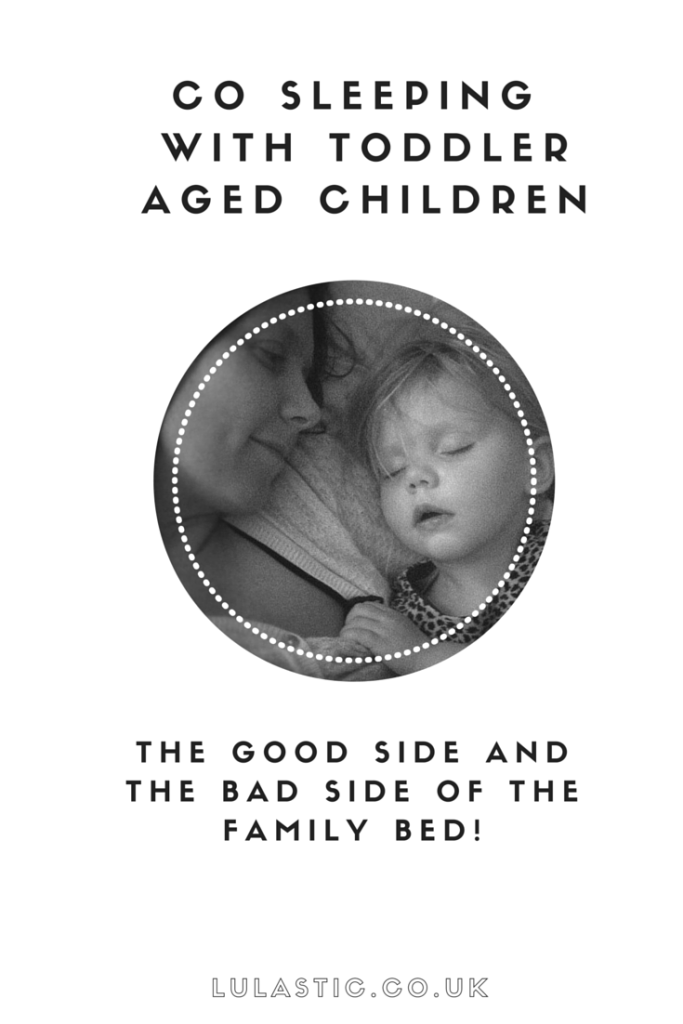 co sleeping with toddler