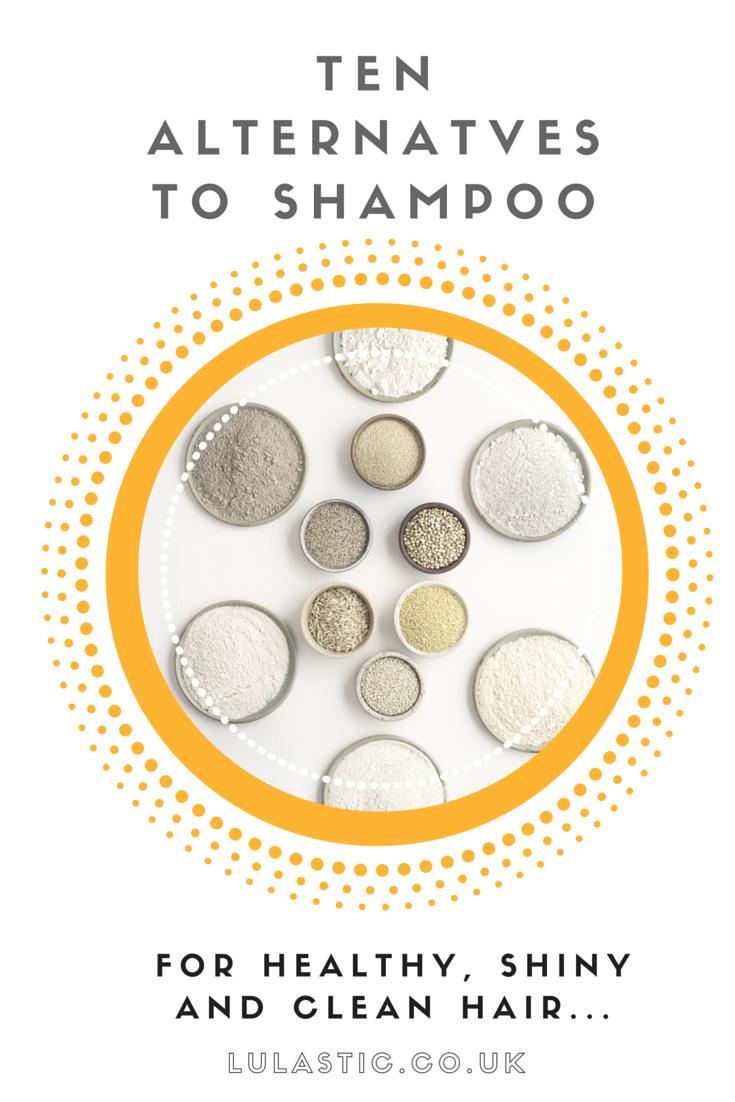 Alternatives to shampoo for clean, healthy hair