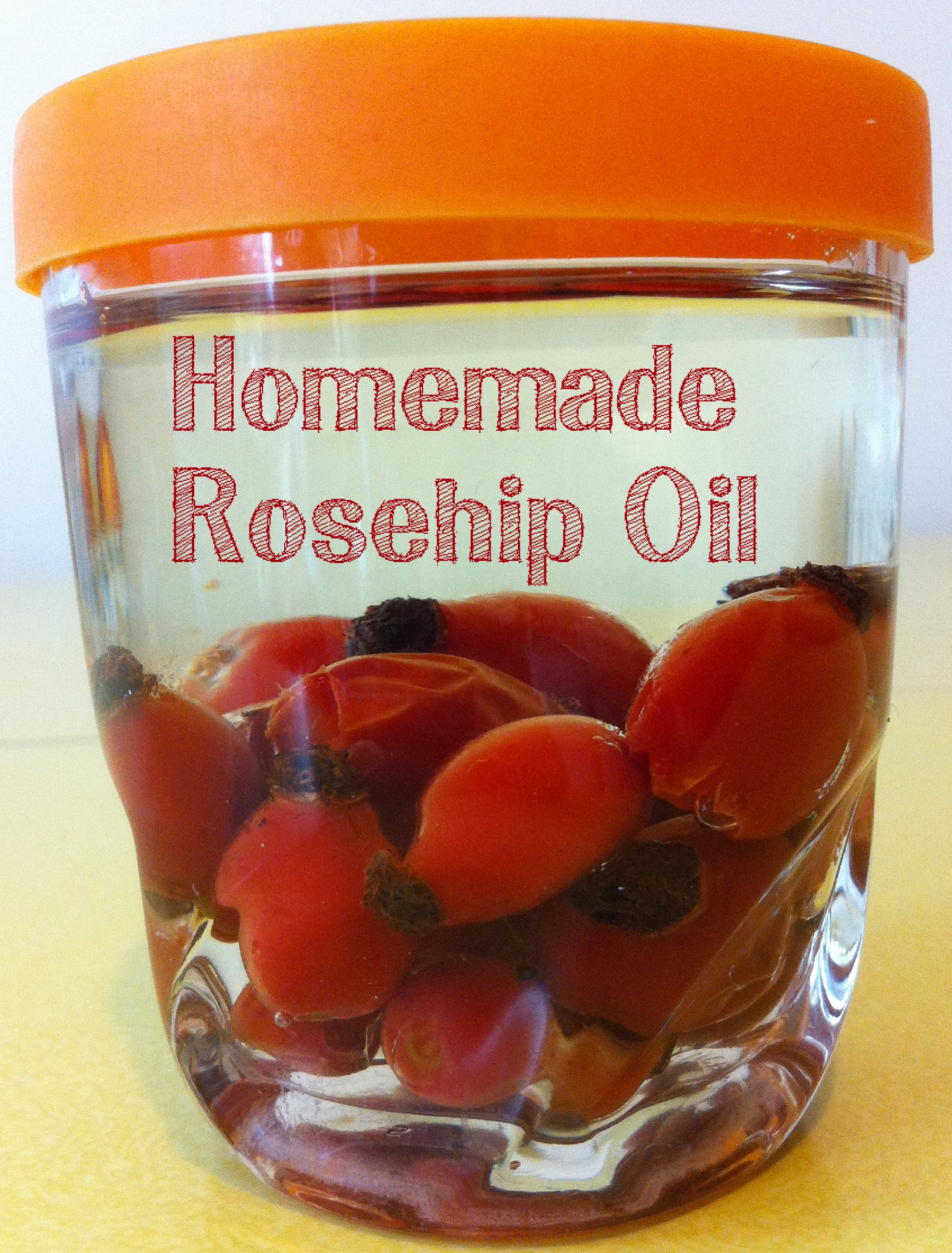 Foraged Rosehip Oil