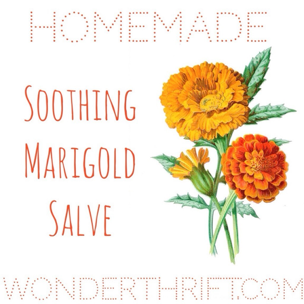 soothing marigold balm