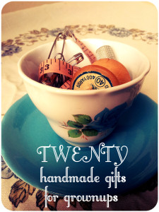 Handmade present ideas