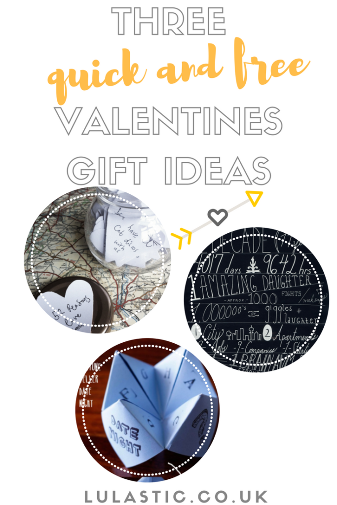 Quick and free valentine gift ideas