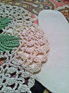 Valentines Doily decoration