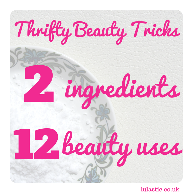 Thrifty beauty tricks