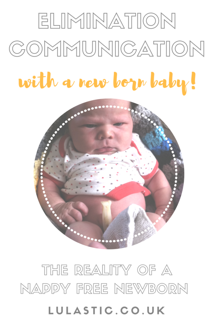 elimination communication with a newborn baby