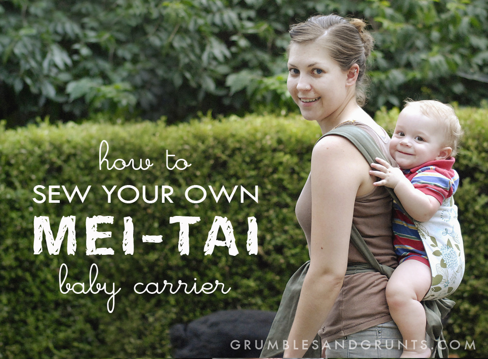 Three DIY babywearing tutorials
