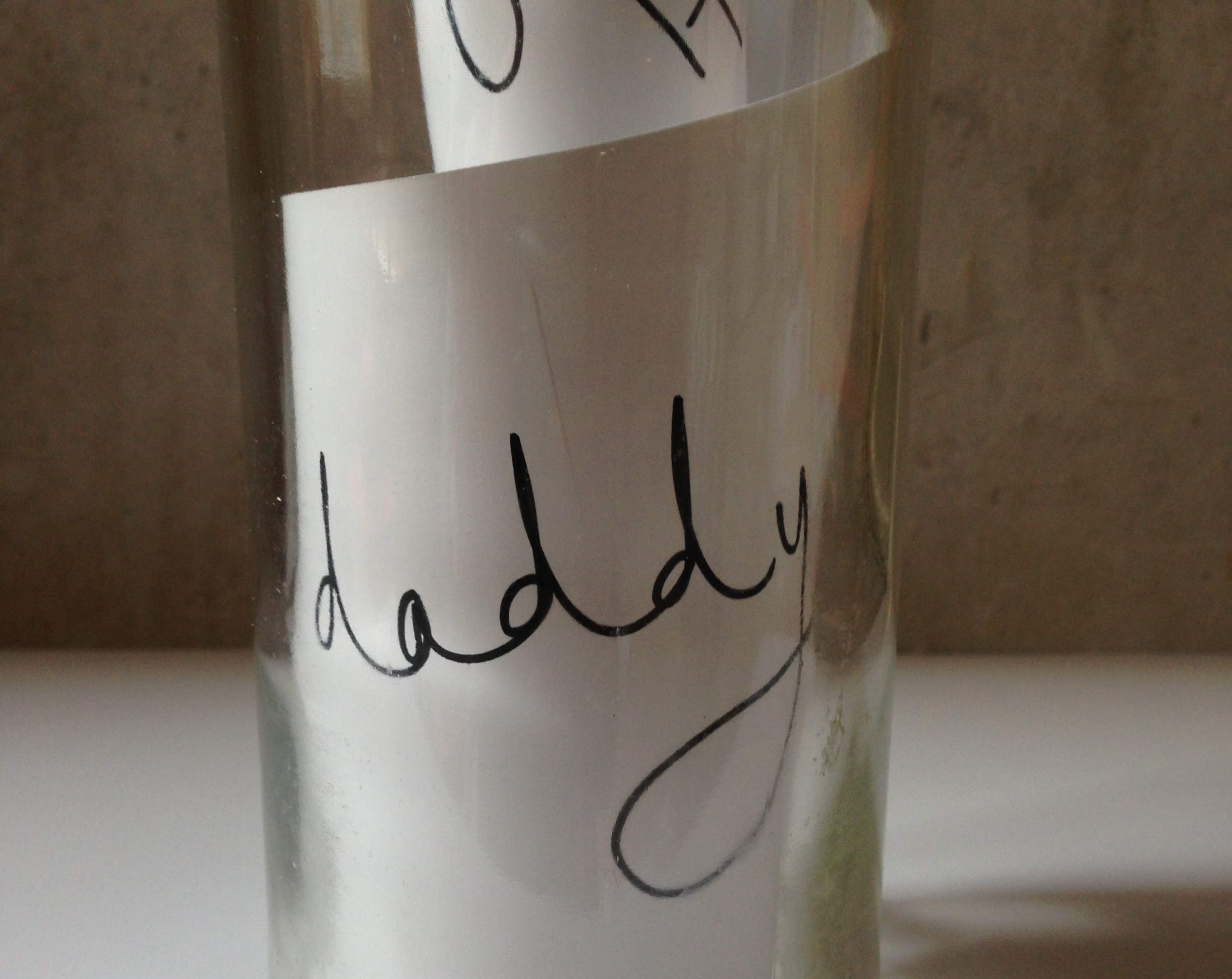 Message in a bottle and other Fathers Day ideas