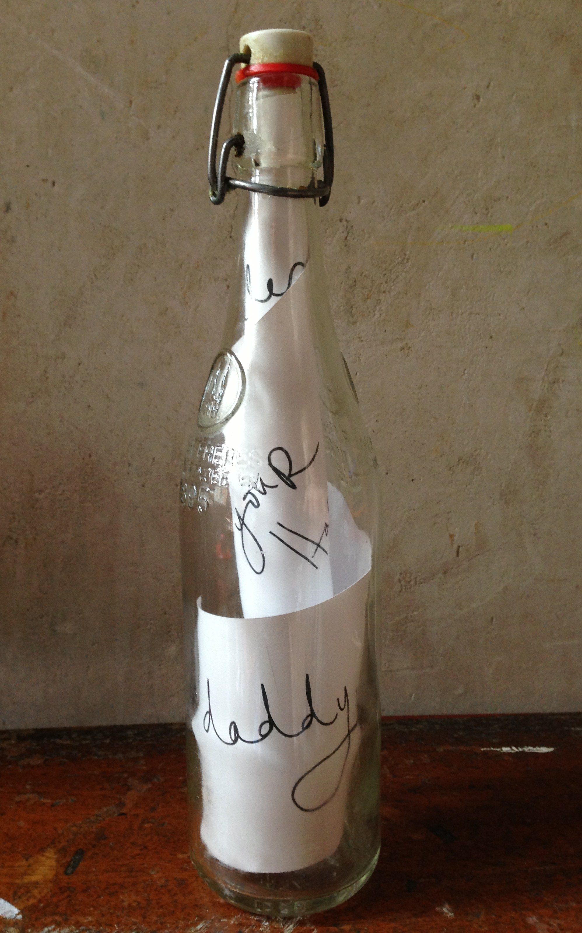 Message in a Bottle for Father's Day
