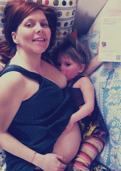 pregnant breastfeeding