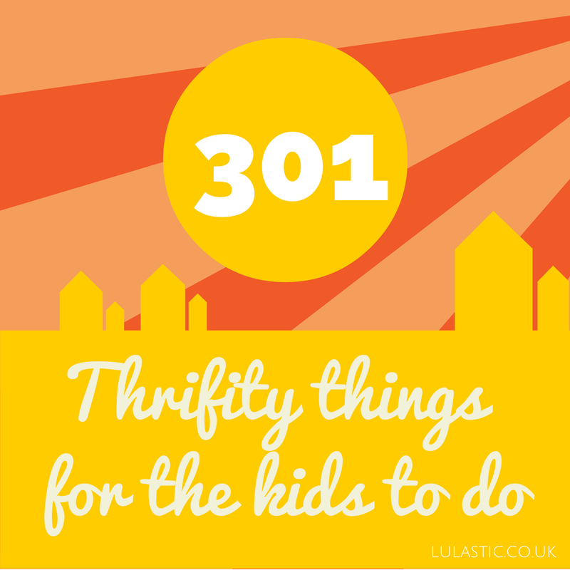 thrifty activities for kids