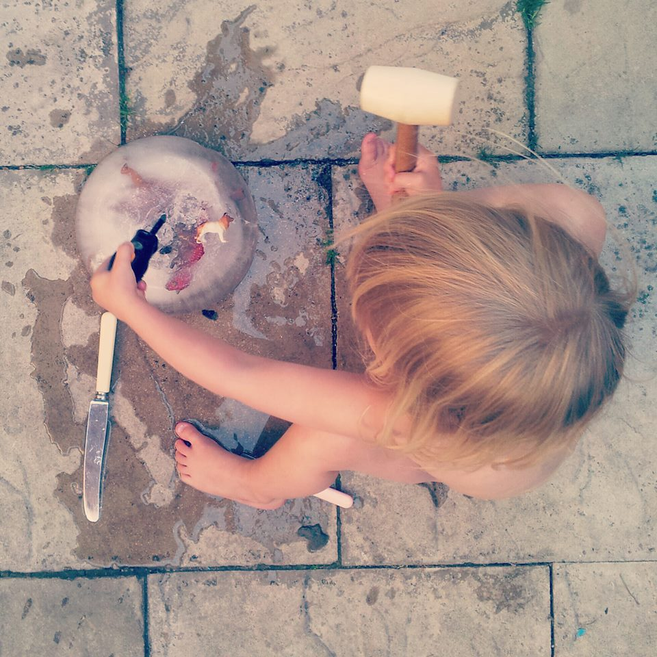 Chipping ice block and 300 other ways to have thrifty fun