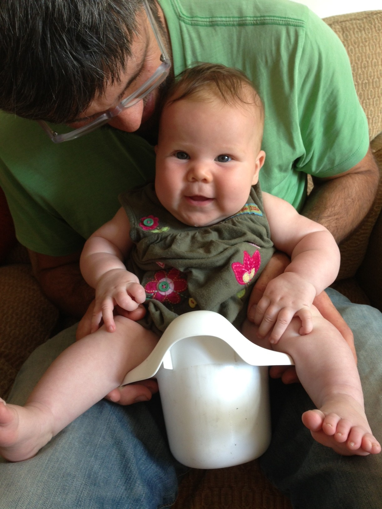 elimination communication at three months old