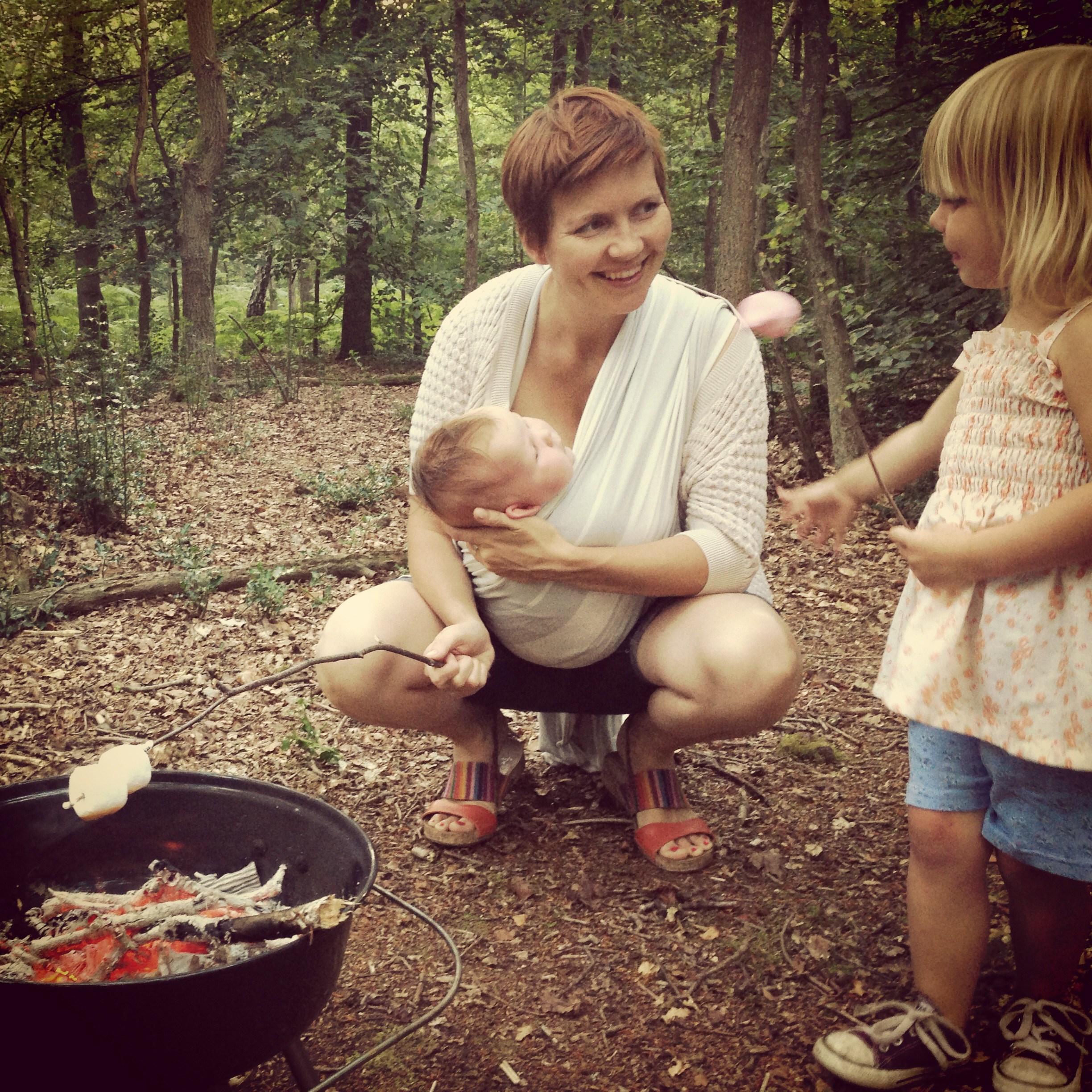Toasting marshmallows and 300 other ways to have thrifty fun