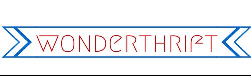 New thrifty blog Wonderthrift