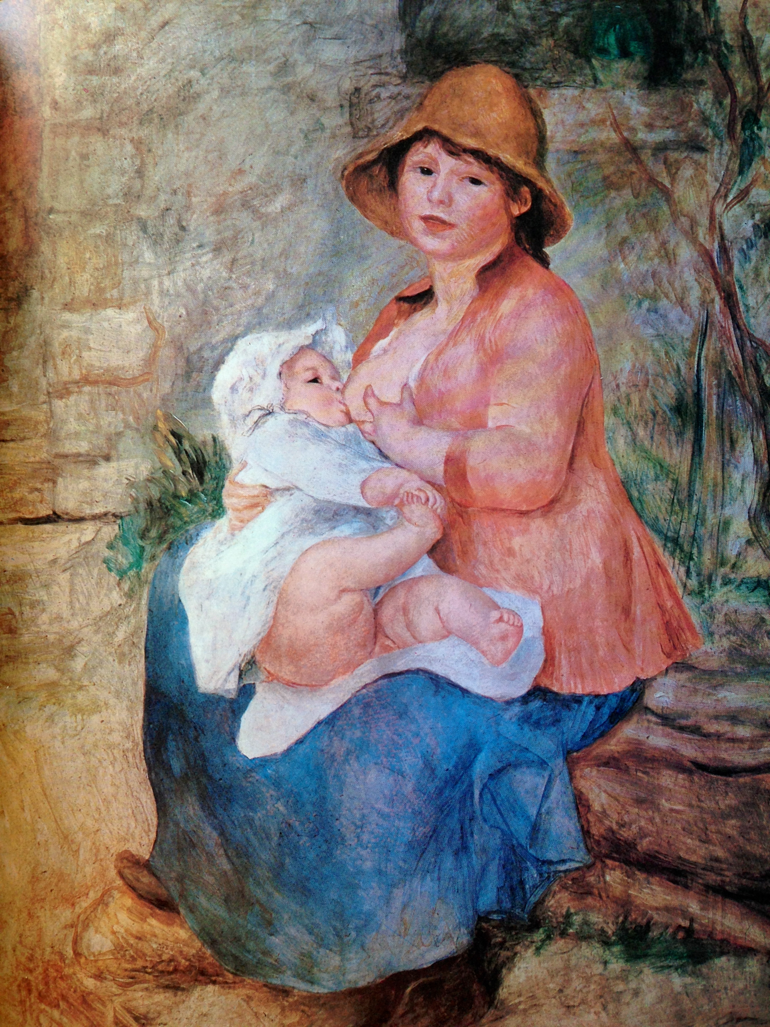 Breastfeeding Renoir- Natural Parenting in Art