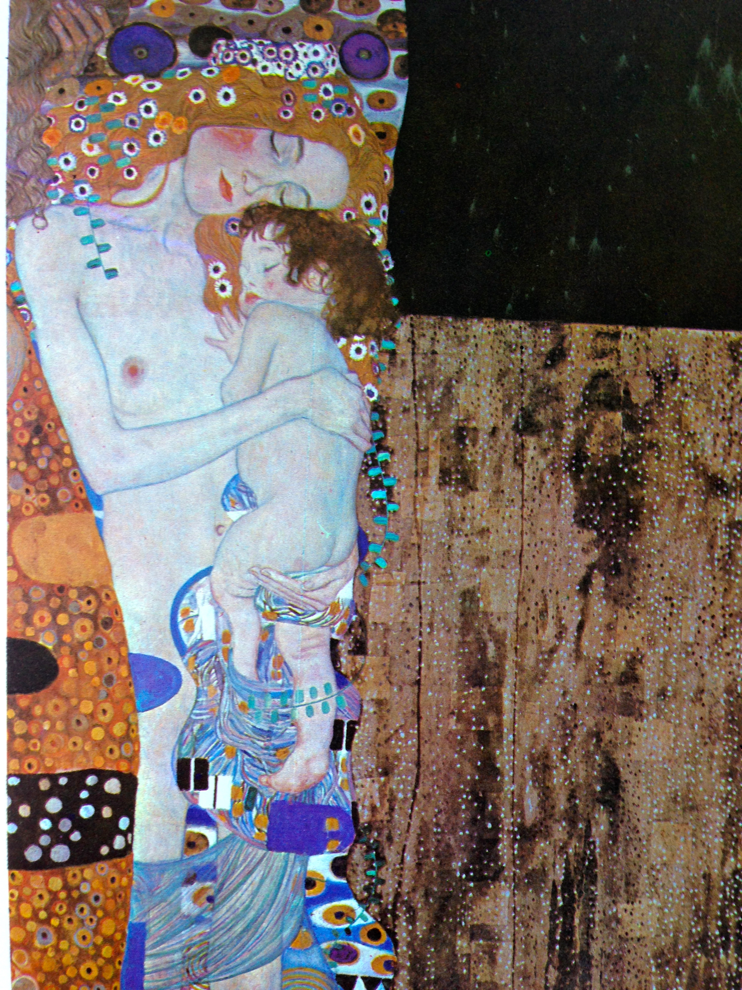 Natural Parenting in Art Klimt Cosleeping