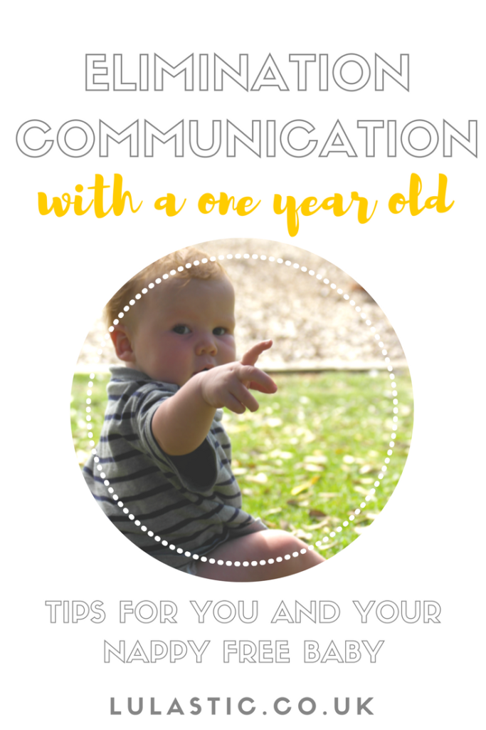 Elimination communication with a one year old baby
