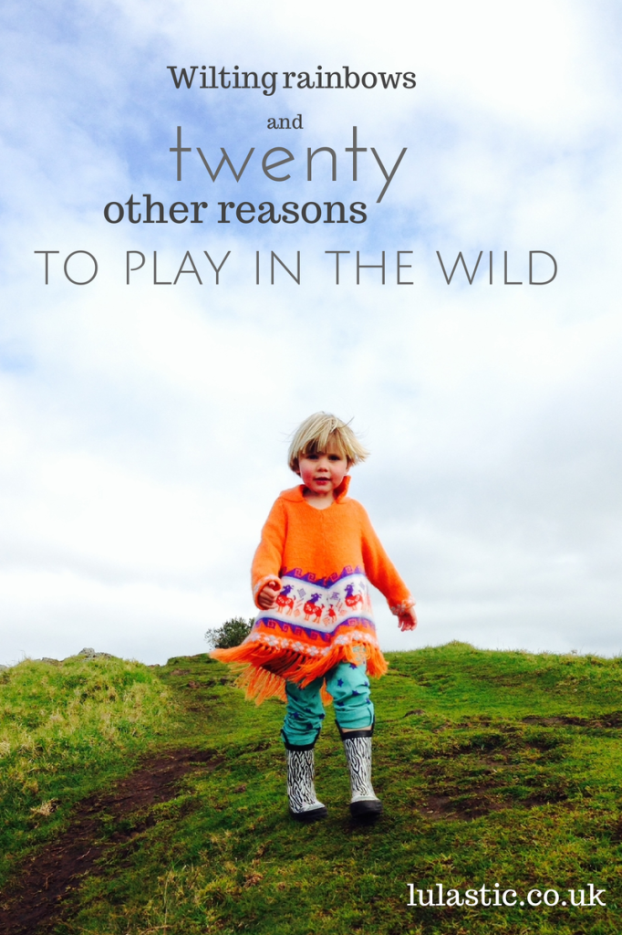 Wilting rainbows & twenty other reasons to play in the wild