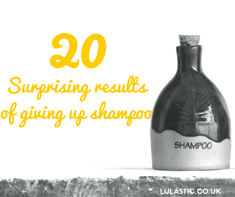 Giving up shampoo - unexpected benefits