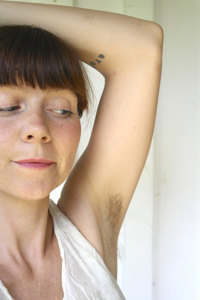 Hairy armpits are beautiful