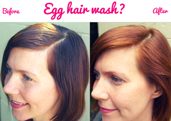 Egg is an amazing alternative to shampoo
