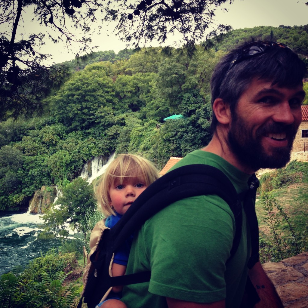 Family Travel Camping Europe
