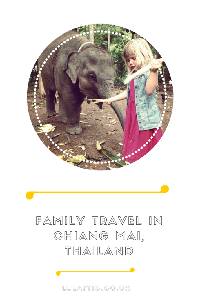 Family travel in Chiang Mai, Thailand