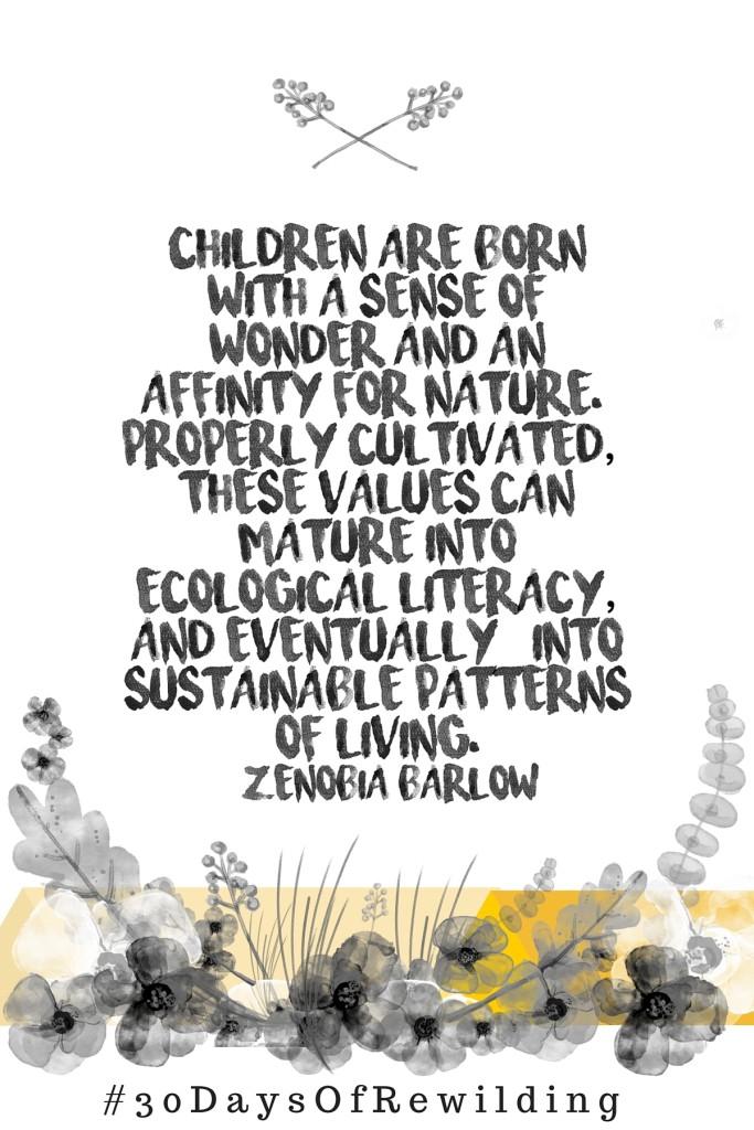 30 Days of Rewilding Zenobia