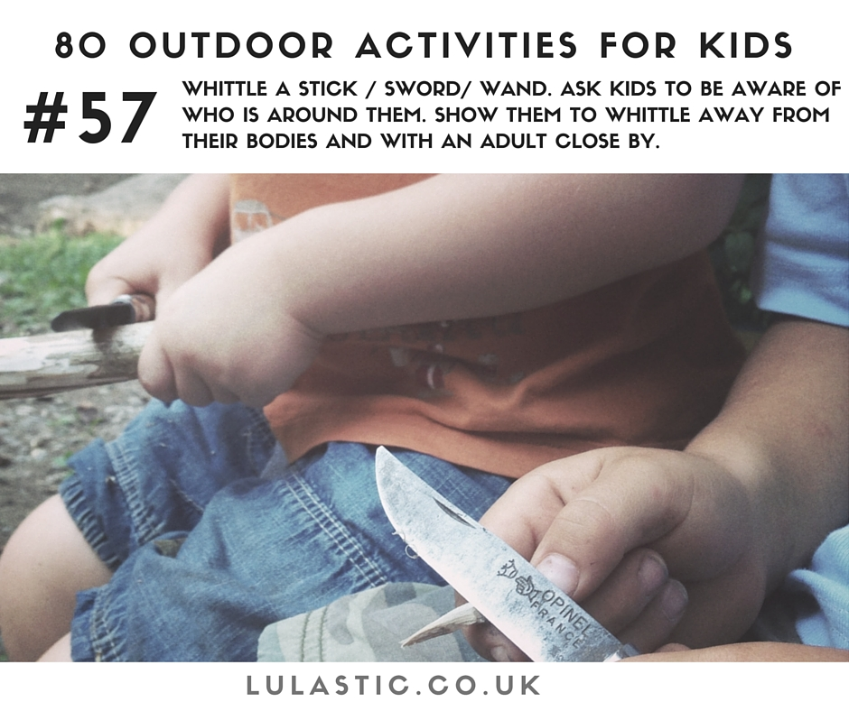 Amazing fun outdoor activities for kids