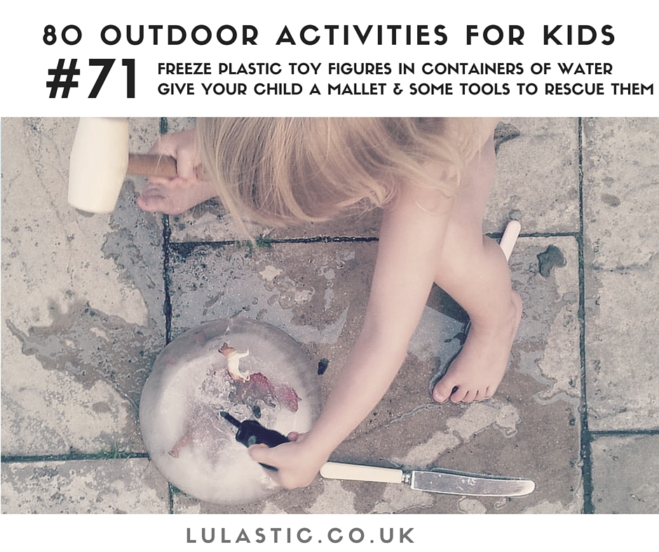 Amazing fun free outdoor activities for kids