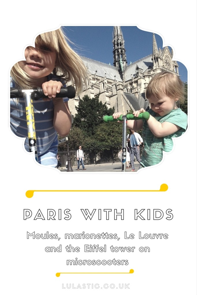 Paris with kids - activities, accommodation and getting around
