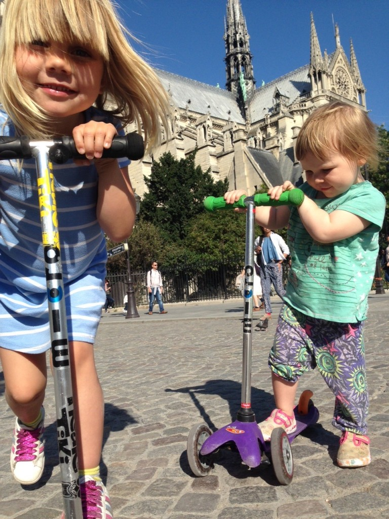 Paris with kids - a family holiday