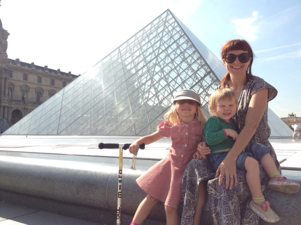 Paris with Kids - le Louvre