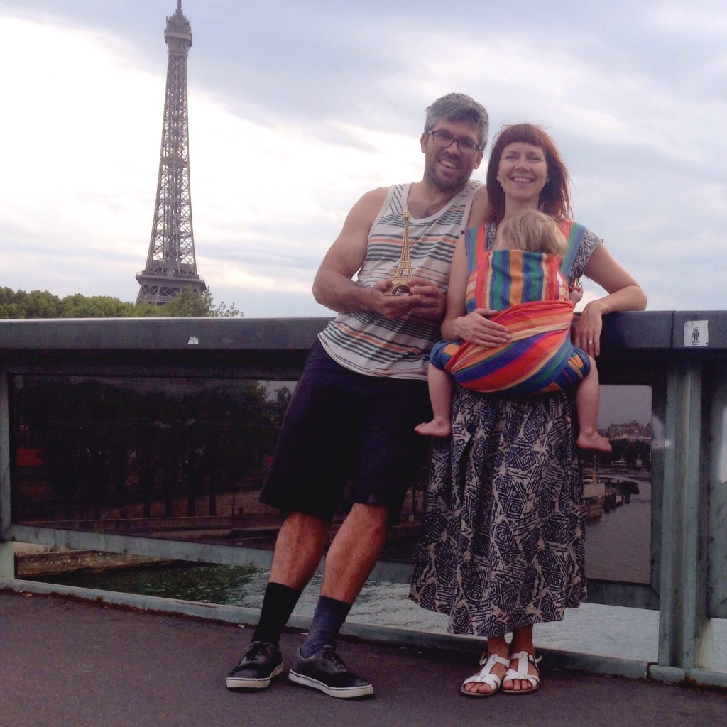 Family Travel - paris with kids