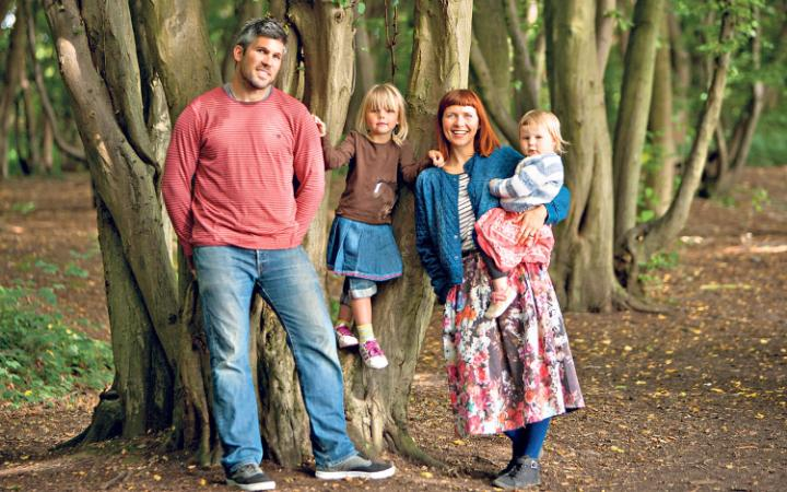 Rewilding - Family moved from South London to a yurt in a forest in NZ