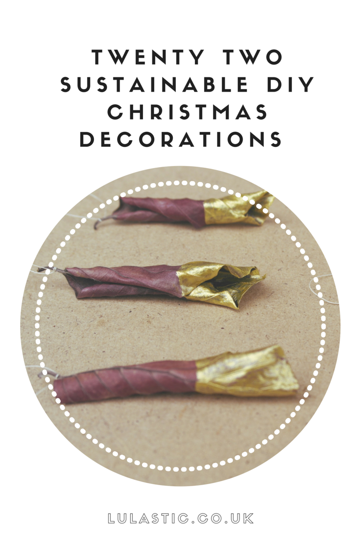 Christmas Decorations to Make  22 unique festive crafts to do at home