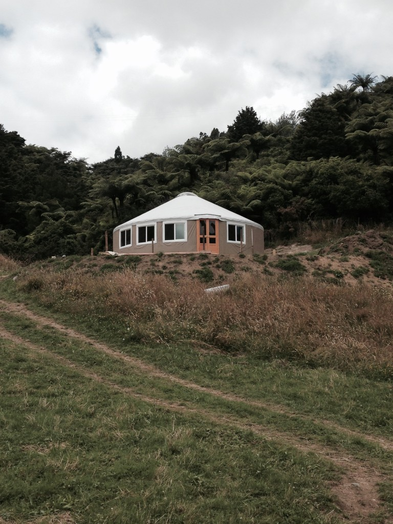 Yurt Raising New Zealand