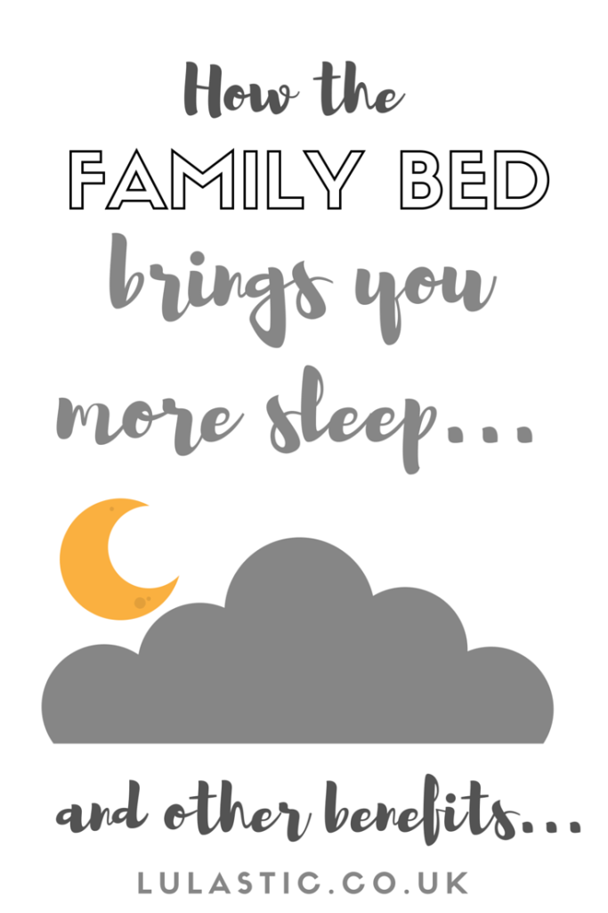 The Family bed! Cosleeping and its many benefits