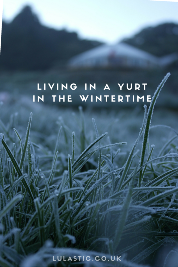 Living in a yurt in the wi
