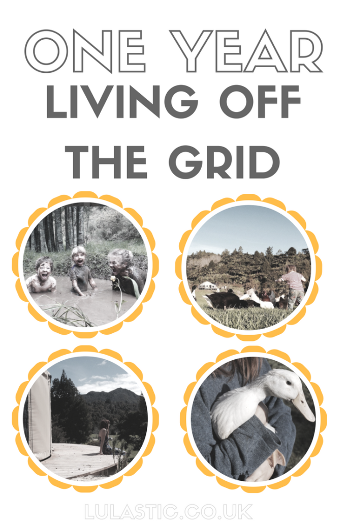 living off the grid for one year