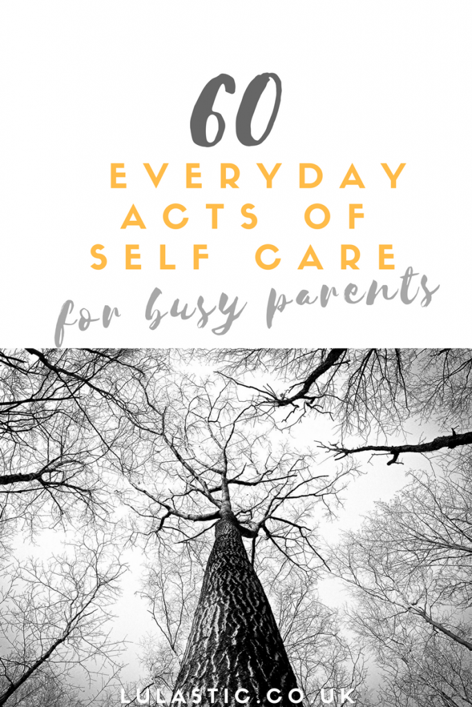 everyday selfcare for busy parents