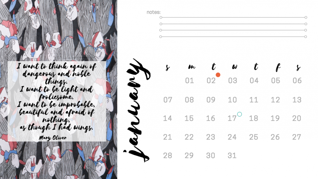 Patreon Lulastic Calendar